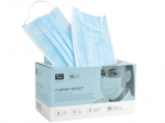 Comfort Protect, Dental mask with ear loops, blue